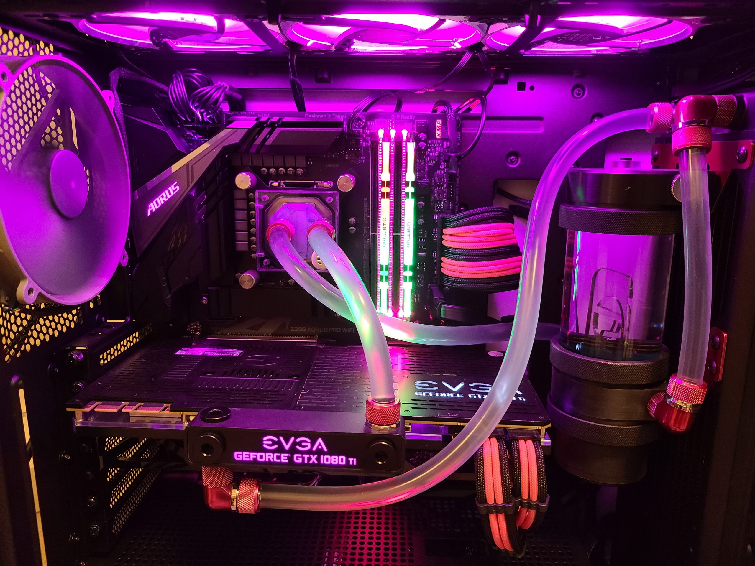 custom water loop